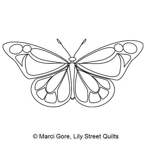 Butterfly Flutter Motif 1