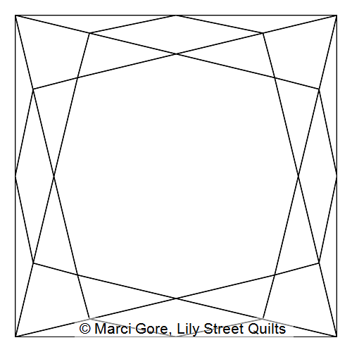 Faceted Square Block