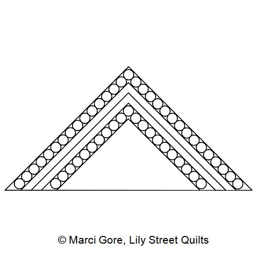 Pearl Frame Triangle Block