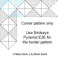 Birdseye Pyramid Corner