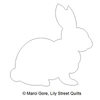 Bunny Outline CSQ