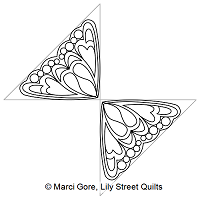 Butterfly Wing Triangle