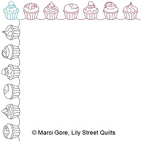 Cupcakes Border and Corner