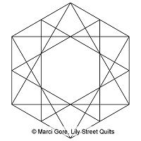 Faceted Hexagon Block