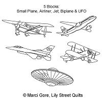 Flying Geese Fleet Motif Set