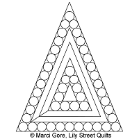 Pearl 45 Degree Triangle