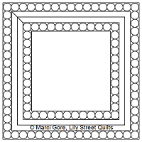 Pearl Frame Square Block