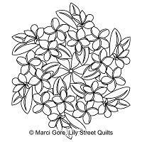 Plumeria Hexagon