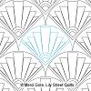 Art Deco Clamshell