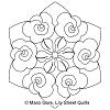 Blossom Hexagon Short