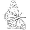 Butterfly Flutter Motif 3