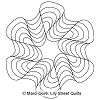Finger Waves Hexagon