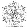 Fleur Ish Hexagon