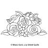 Floral Bouquet Block