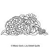 Hydrangea Bouquet Block