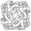 Scattered Daisies Block